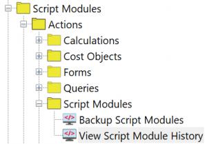 ImpactECS Item Type Actions - Folders