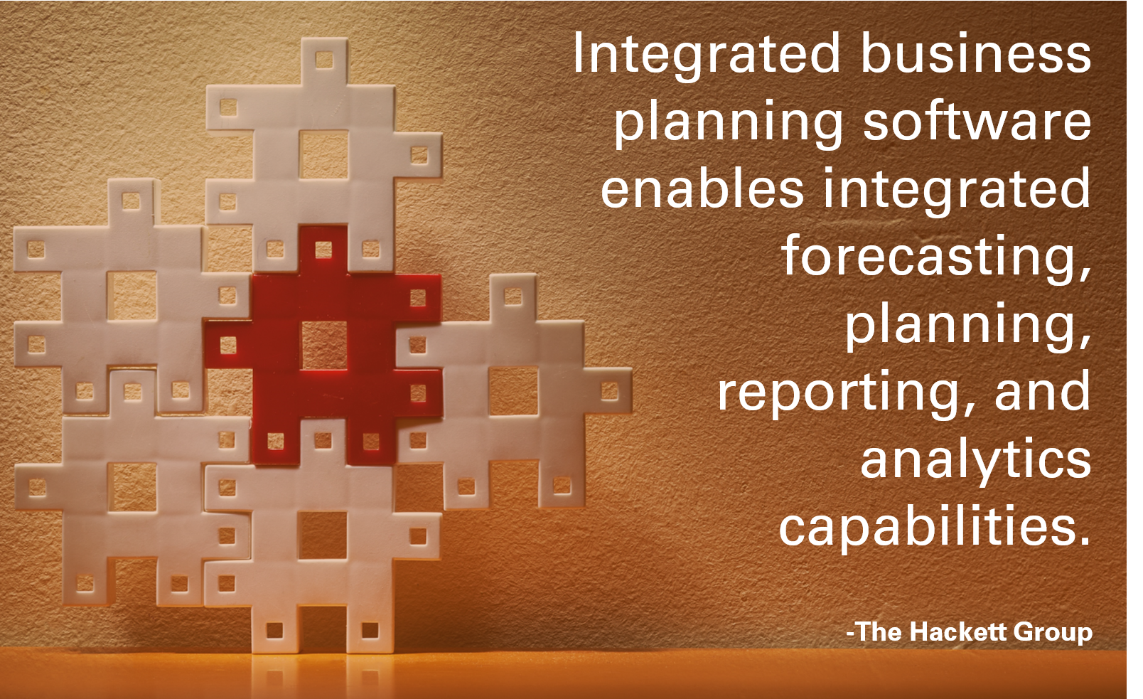 The Framework for the Best Integrated Business Planning Tool for